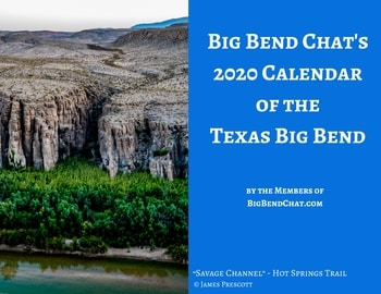 2020 Big Bend Chat Calendar